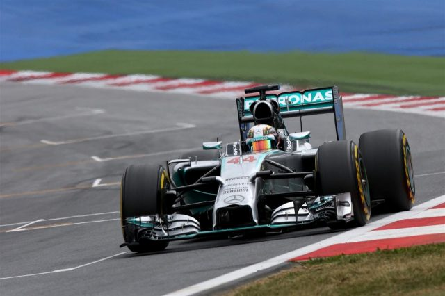 Lewis Hamilton (GBR) Mercedes AMG F1 W05. Formula One World Championship, Rd8, Austrian Grand Prix, Qualifying, Spielberg, Austria, Saturday, 21 June 2014
