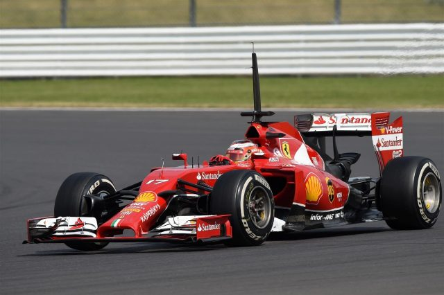 Jules Bianchi (FRA) Ferrari F14 T. Formula One Testing, Silverstone, England, Day Two, Wednesday, 9 July 2014
