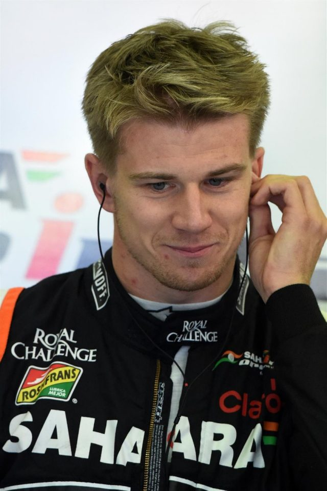 Nico Hulkenberg (GER) Force India F1. Formula One World Championship, Rd12, Belgian Grand Prix, Practice, Spa-Francorchamps, Belgium, Friday, 22 August 2014