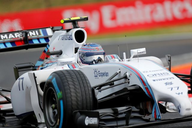 Valtteri Bottas (FIN) Williams FW36. Formula One World Championship, Rd11, Hungarian Grand Prix, Race Day, Hungaroring, Hungary. Sunday, 27 July 2014