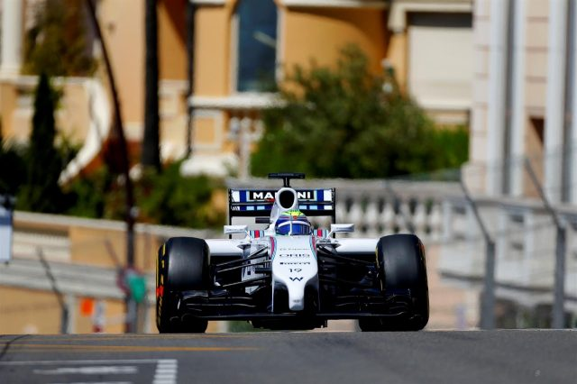 Felipe Massa (BRA) Williams FW36. Formula One World Championship, Rd6, Monaco Grand Prix, Qualifying, Monte-Carlo, Monaco, Saturday, 24 May 2014