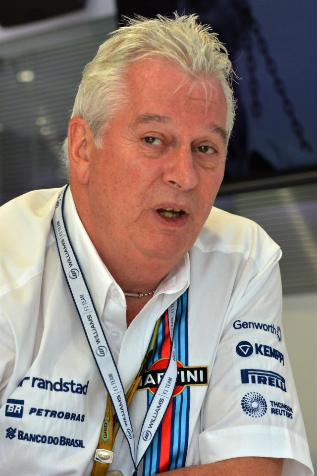 Pat Symonds (GBR) Williams Technical Director. Formula One World Championship, Rd9, British Grand Prix, Preparations, Silverstone, England, Thursday, 3 July 2014