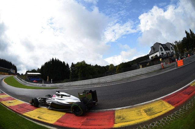 Jenson Button (GBR) McLaren MP4-29. Formula One World Championship, Rd12, Belgian Grand Prix, Qualifying, Spa-Francorchamps, Belgium, Saturday, 23 August 2014