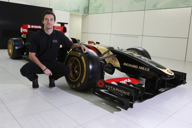 Jolyon Palmer (GBR) Lotus F1 Test and Reserve Driver.