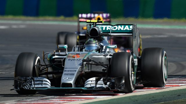 Nico Rosberg (GER) Mercedes AMG F1 W06 at Formula One World Championship, Rd10, Hungarian Grand Prix, Race, Hungaroring, Hungary, Sunday 26 July 2015. &copy&#x3b; Sutton Motorsport Images