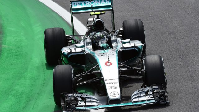 Nico Rosberg (GER) Mercedes AMG F1 W06 at Formula One World Championship, Rd18, Brazilian Grand Prix, Race, Interlagos, Sao Paulo, Brazil, Sunday 15 November 2015. &copy&#x3b; Sutton Motorsport Images