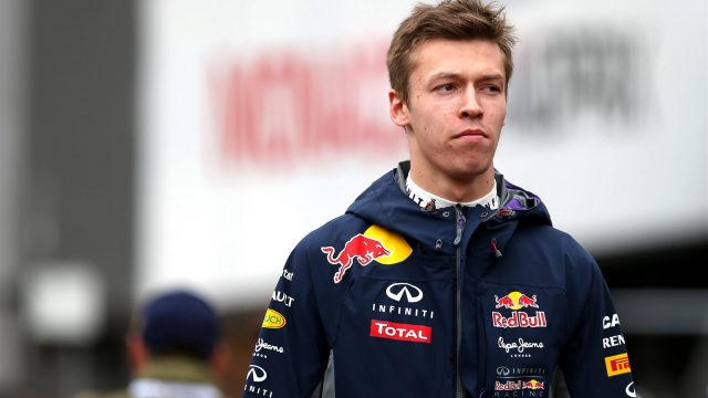 Daniil Kvyat  - 2018 Dark brown hair & alternative hair style.