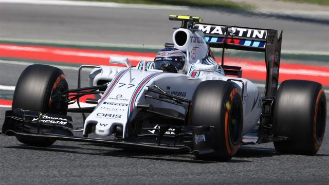 Valtteri Bottas (FIN) Williams FW37 at Formula One World Championship, Rd5, Spanish Grand Prix Qualifying, Barcelona, Spain, Saturday 9 May 2015. &copy&#x3b; Sutton Motorsport Images