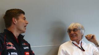 In conversation - Bernie Ecclestone and Max Verstappen