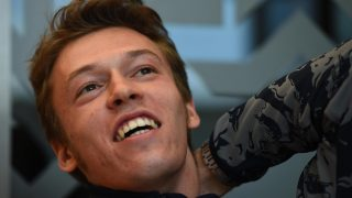 There is only one… Daniil Kvyat