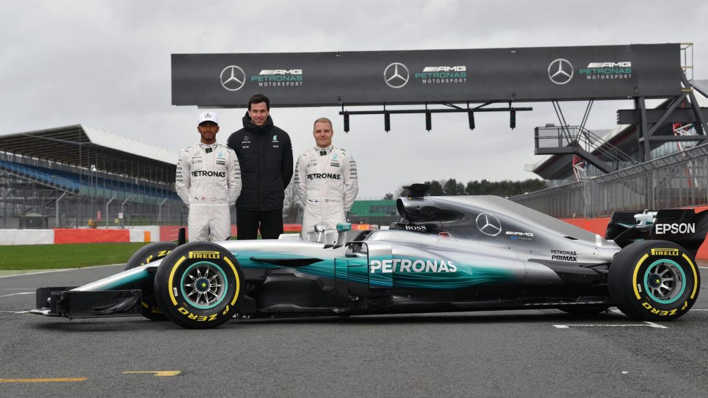 Exclusive wolff on new look mercedes 2017 challenge for Mercedes benz formula 1