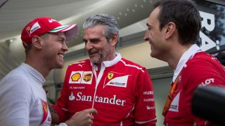 Vettel: Triumph hopefully the start of a long love affair with 'Gina'!