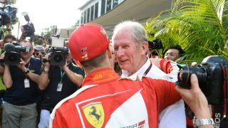 Seb will be stronger in second half of '17 - Helmut Marko Q&A