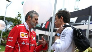 Impossible not to feel for Ferrari - Toto Wolff Q&A