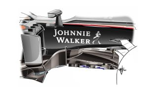 McLaren MP4-30 - slotted tea tray