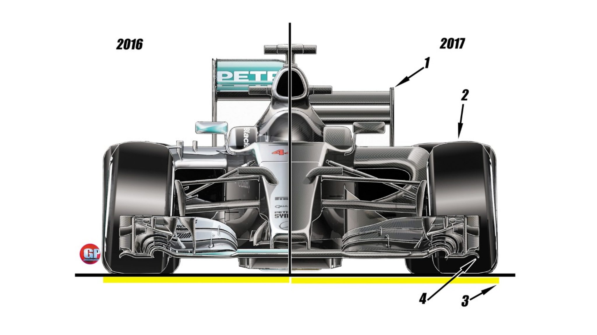 Chassis design of f1 car - Image