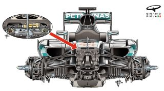 Tech review - Mercedes suspension in Singapore spotlight