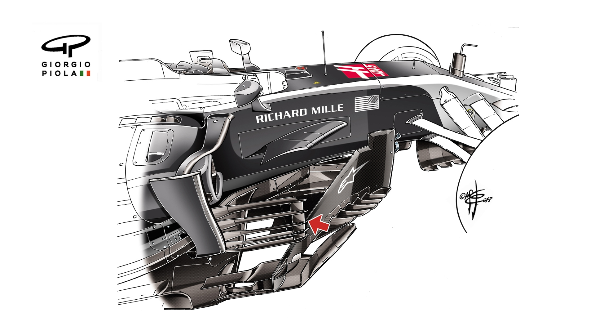 Tech insight - Haas's extreme American aero