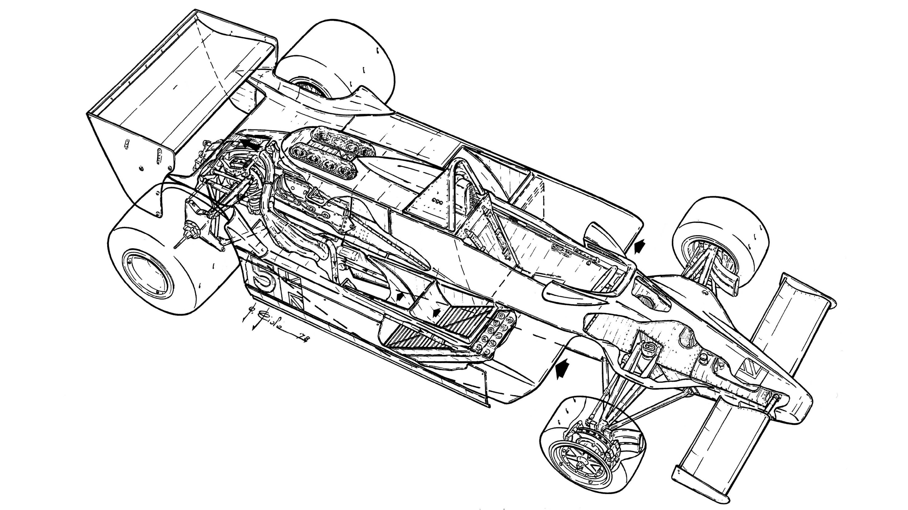 Tech Tuesday The Lotus 79 F1 S Ground Effect Marvel