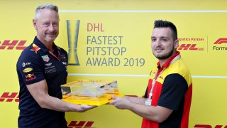 2019 DHL Fastest Pit Stop Award