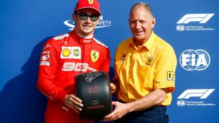 2019 Pirelli Pole Position Award