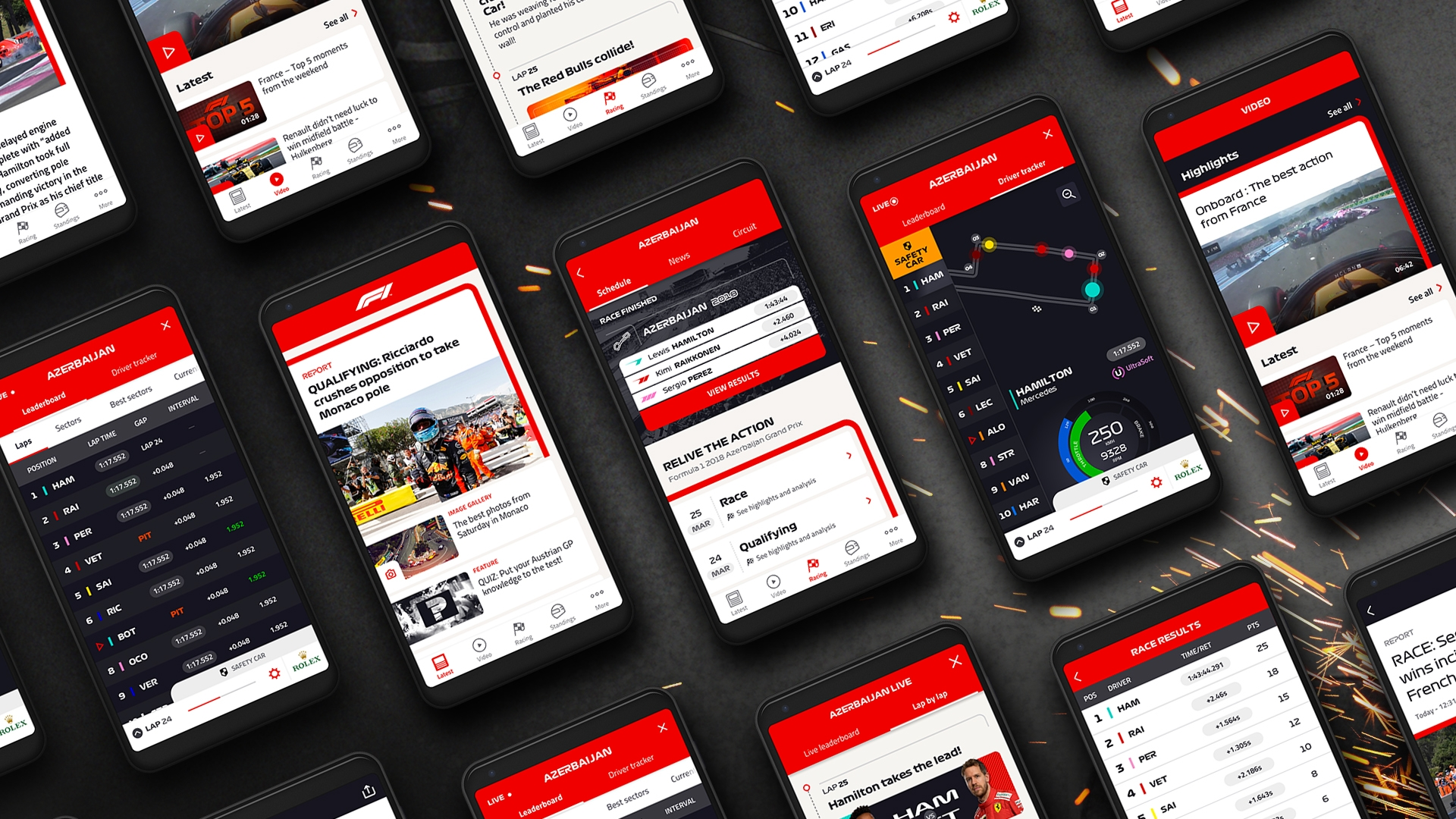 Never miss a moment with the Official F1® App