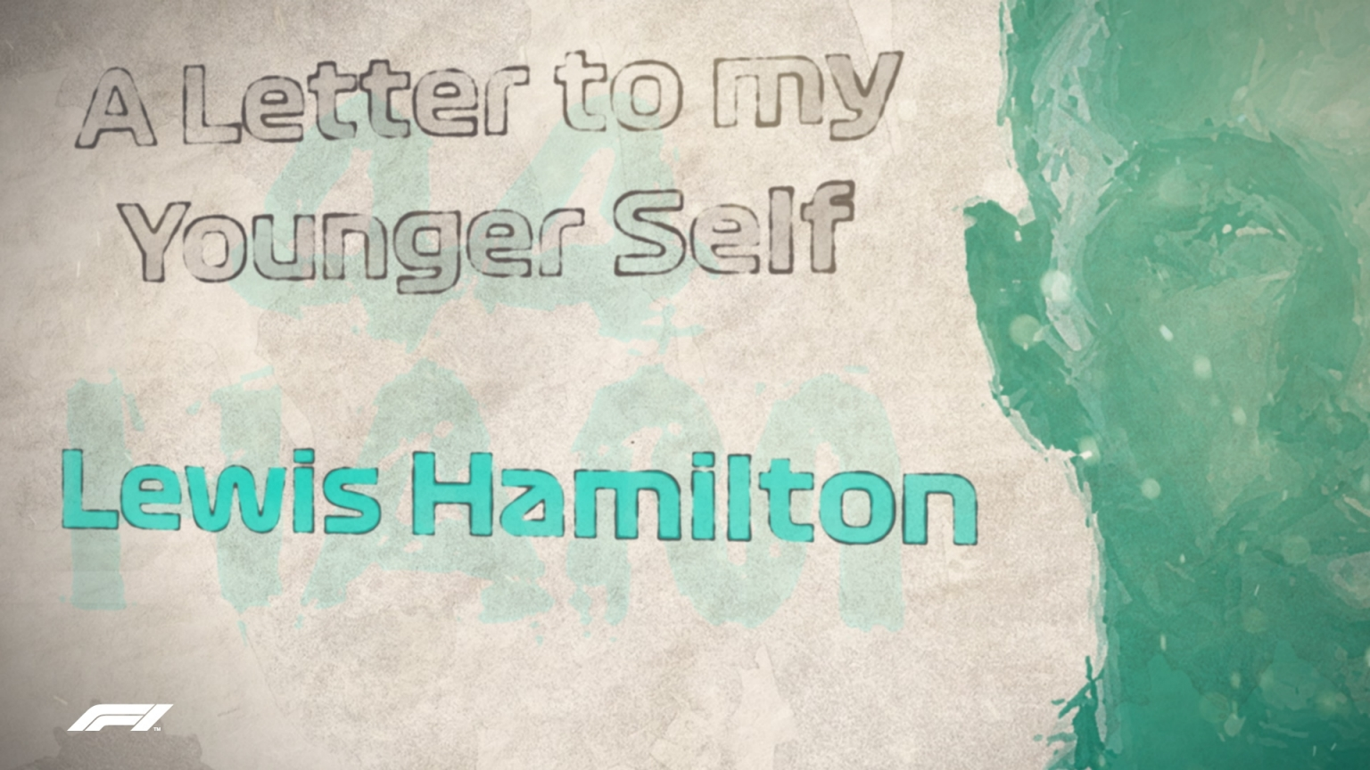 A LETTER TO MY YOUNGER SELF: Lewis Hamilton