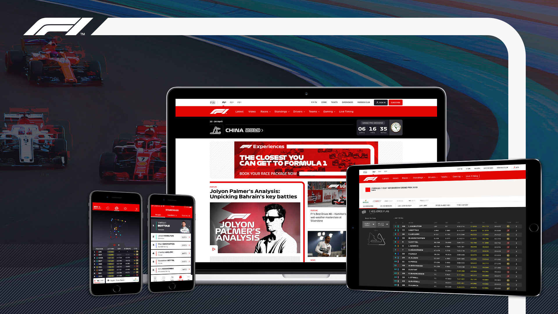 The official home of Formula 1® | F1 com