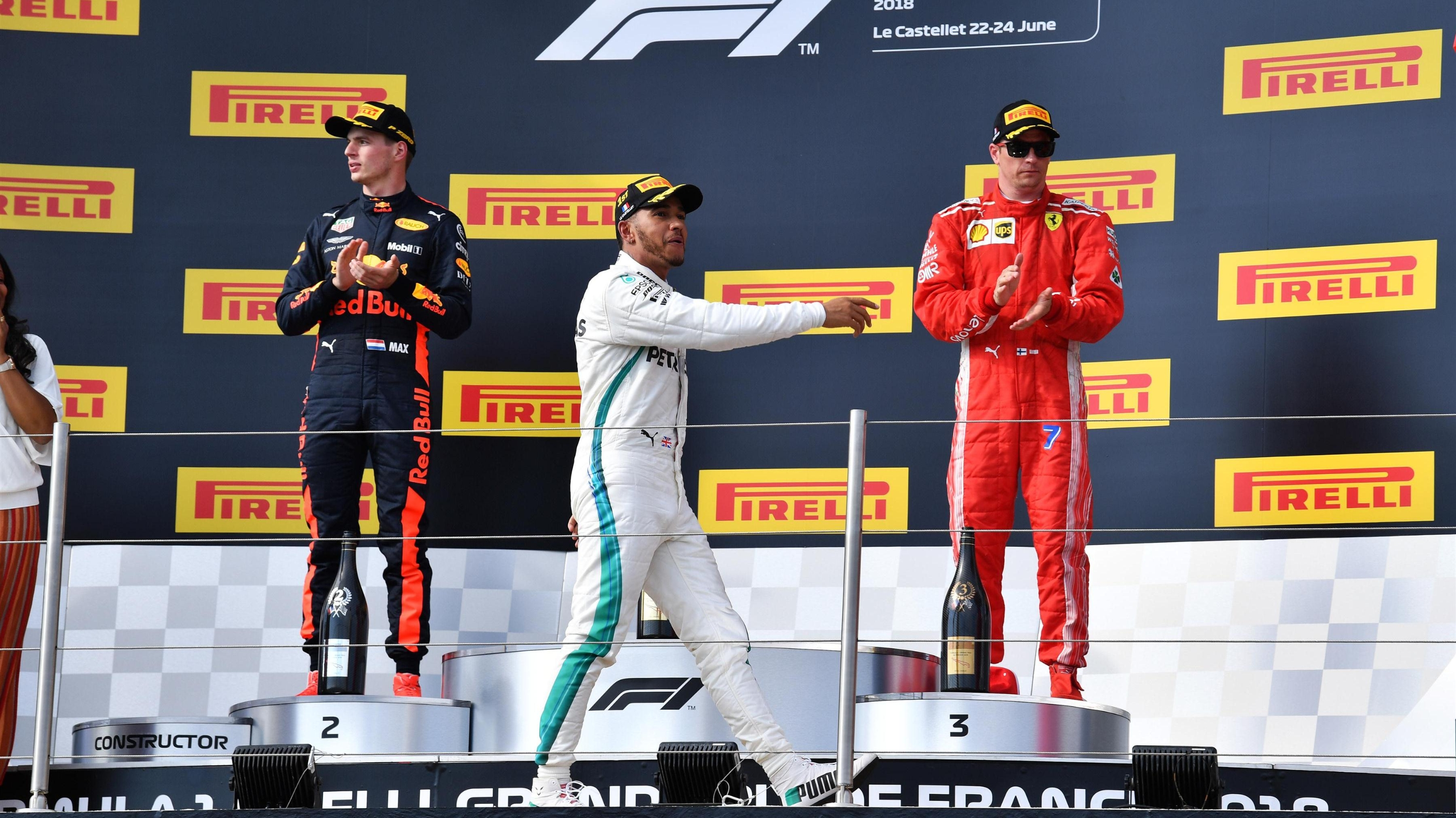 Bottas on Austria pole, Hamilton second