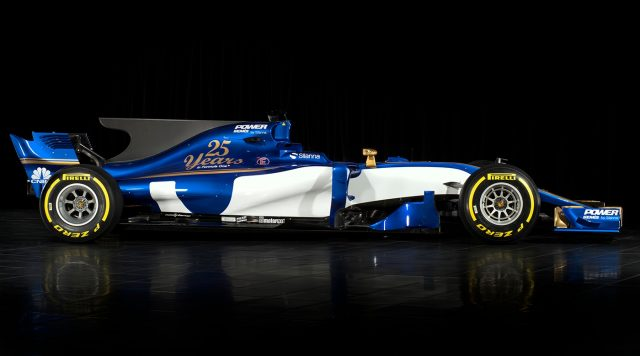 Sauber reveals its 2017 F1 vehicle  with a fresh new look
