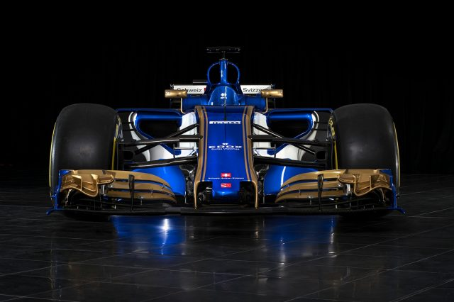 Sauber launch 2017 F1 auto  and Mercedes absolutely love it
